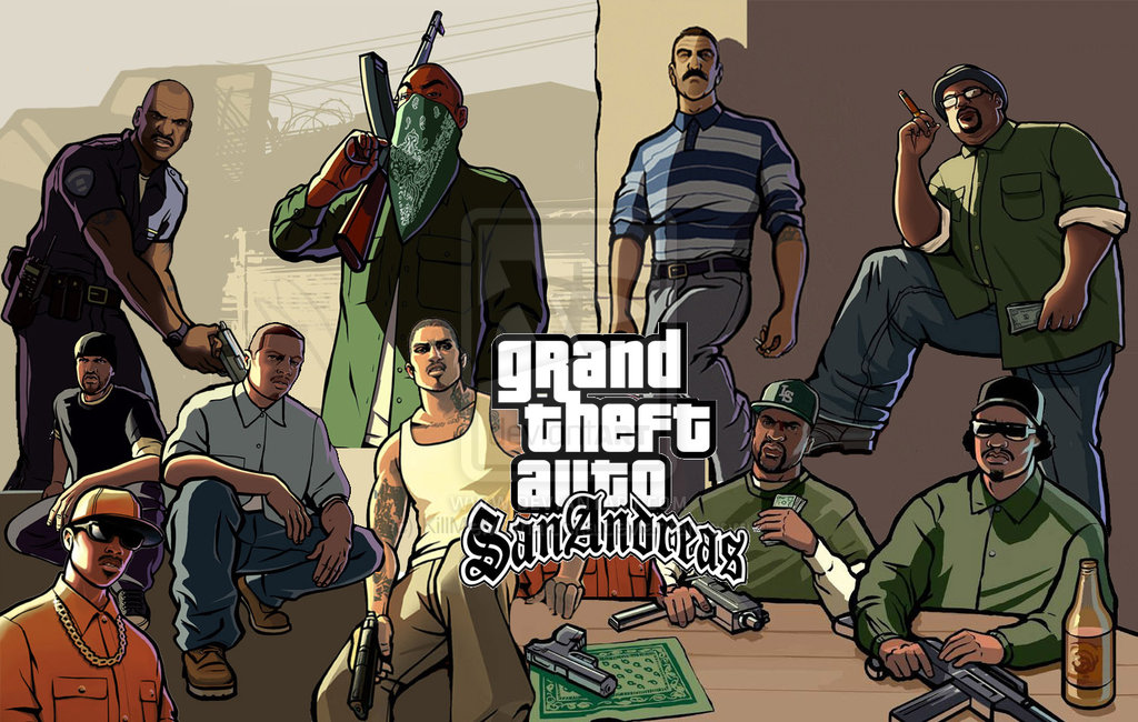 GRAND THEFT AUTO - SAN ANDREAS for android free Download apk + Data