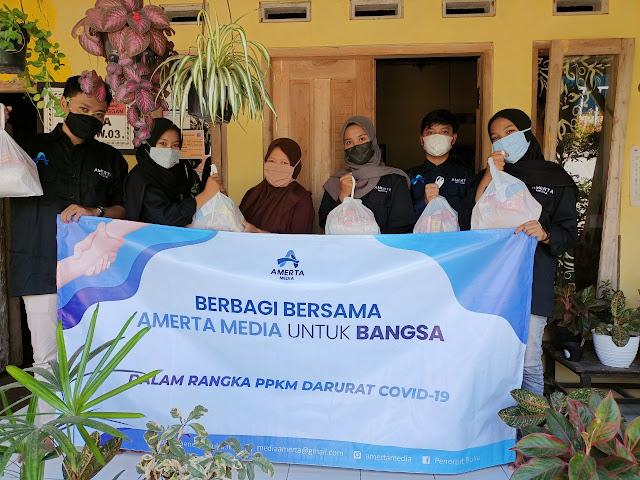 Penerbitan Buku Amerta Media Berbagi Ditengah Pandemi Covid-19