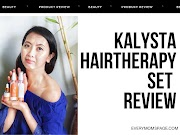 Kalysta Hairtherapy Line for Hairfall and Hair Restoration