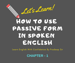 Learn active and passive voice with examples ; active and passsive rules to use in English speaking,after watching this video you learn to use passsive form