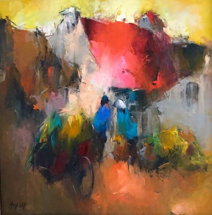 Талантливый и творческий художник. Hoang Nghia Hiep