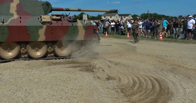 Párduc tankot tartott a hátsó kertben a német kisnyugdíjas