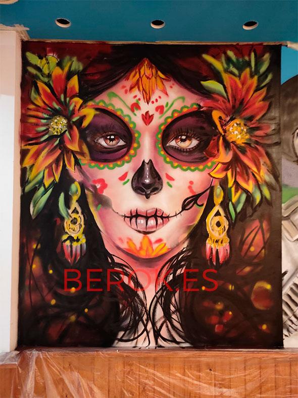 Graffiti chica mexico