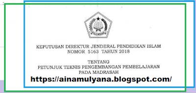Juknis Pengembangan Pembelajaran Pada Madrasah TERLENGKAP PETUNJUK TEKNIS - JUKNIS PENGEMBANGAN PEMBELAJARAN PADA MADRASAH