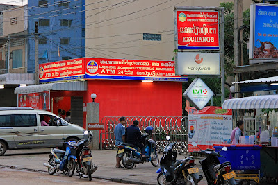 ATM à Savannakhet