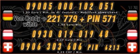 Telefonsexfrauen - Nummern von Frauen mit dicken Titten für Deutschland Österreich und Schweiz
