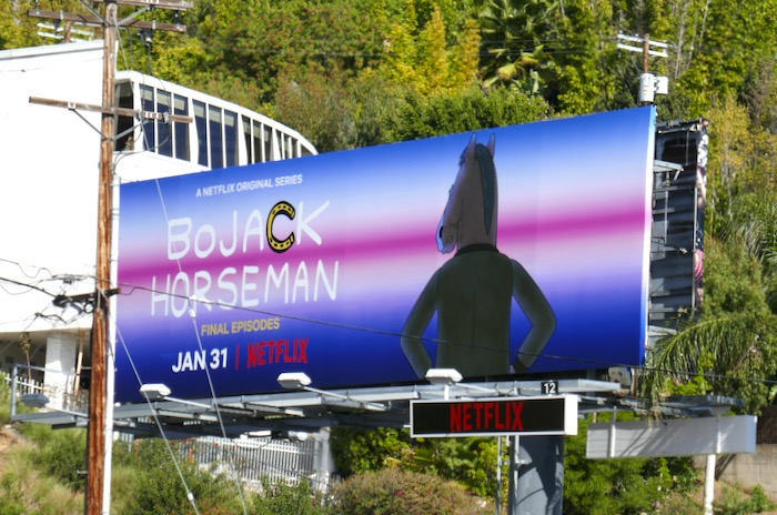 BoJack Horseman final episodes billboard