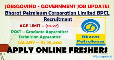 BPCL Recruitment 2021