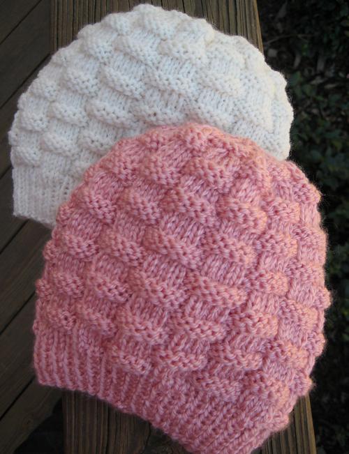 Basket-Weave Baby Hat - Free Pattern