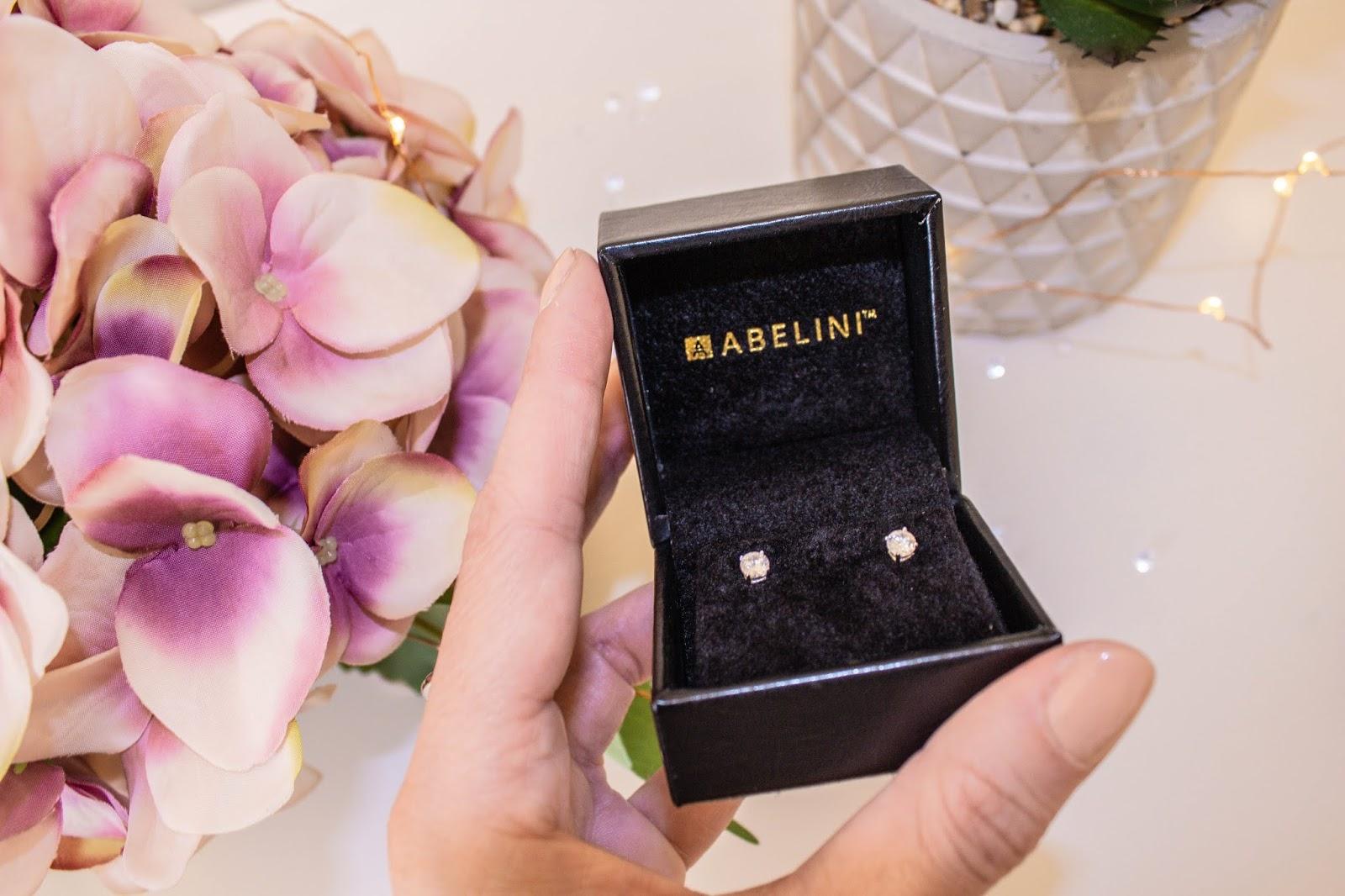 Diamond stud earrings from Abelini Jewellery Hatton Garden