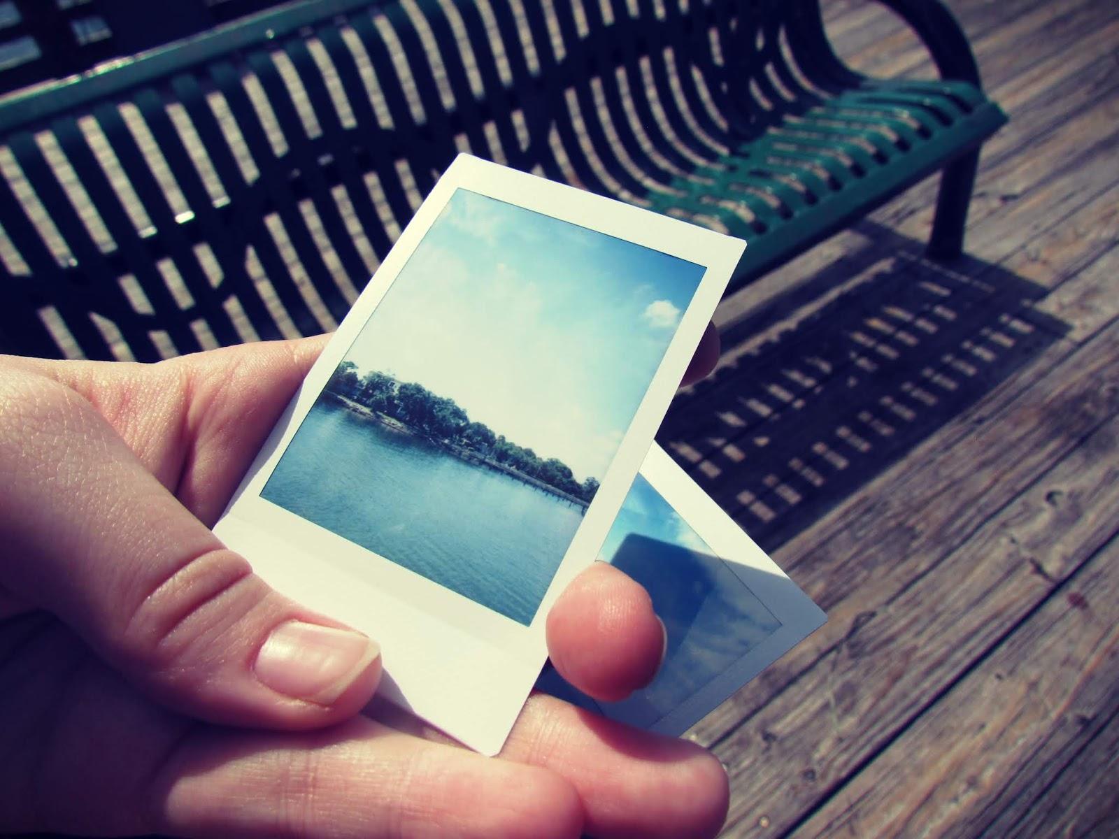 Polaroids + Instax Picture Nostalgia for Summer Blues