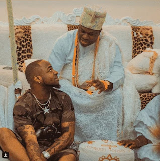Davido and Ooni of Ife