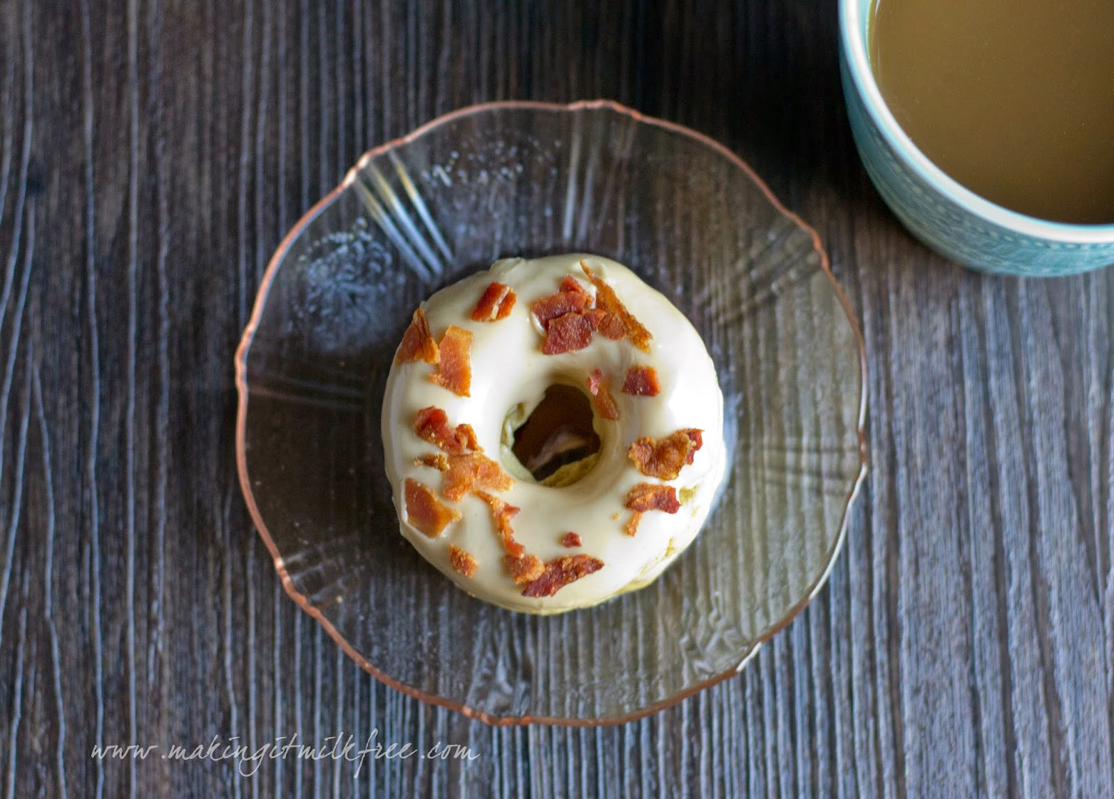 #glutenfree #dairyfree #eggfree #maple #bacon #donuts