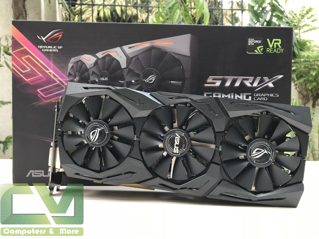 Asus ROG STRIX GTX 1070 Ti Advanced Review ~ Computers and