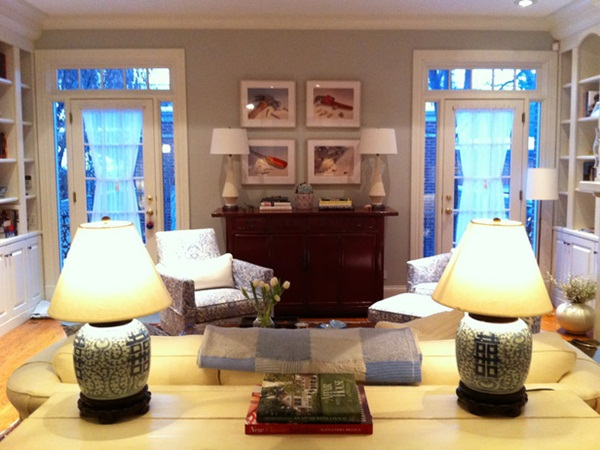 Living Room Designed by Meg Caswell