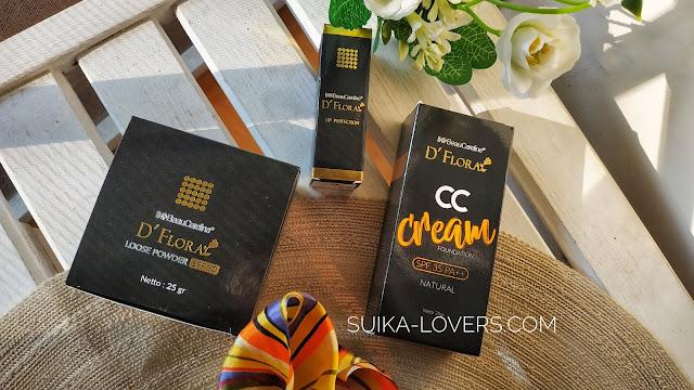 cc cream, bedak tabur, lipstik, makeup K-Link
