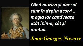 Citatul zilei: 28 aprilie - Jean-Georges Noverre