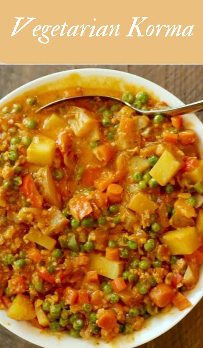 VEGETARIAN KORMA RECIPE #vegetarian #foods