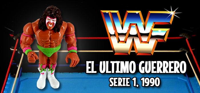 Figura Pressing Catch El último guerrero (Hasbro, 1990)