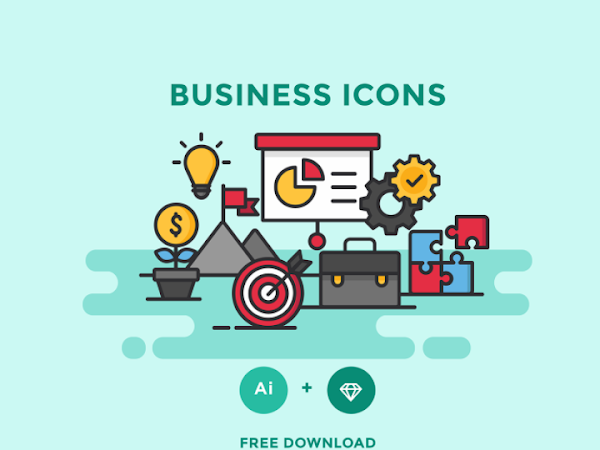 Download Vector Business Icons Free