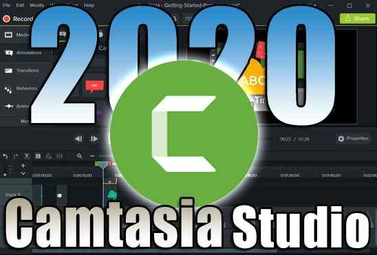 تحميل وتفعيل برنامج Camtasia Studio 2020 عملاق تصوير سطح المكتب وعمل المونتاج