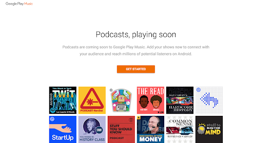 Podcasters, welcome to Google Play Music