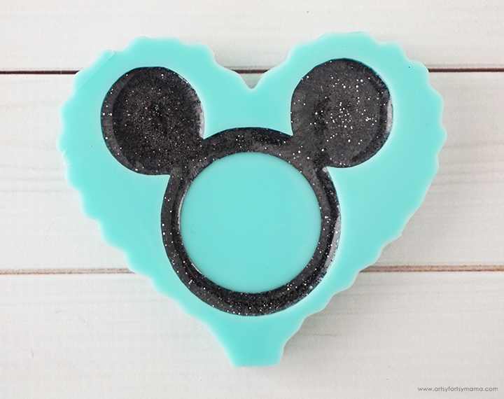 Mickey Mouse Resin Shaker Charm