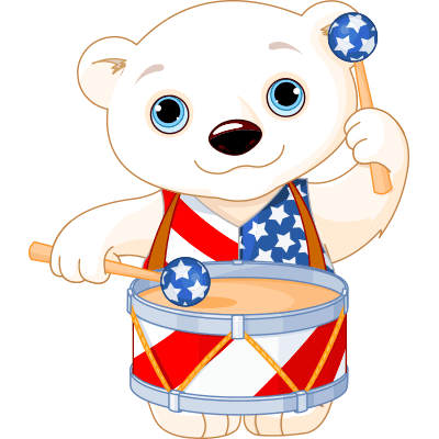 Drummer Polar Bear