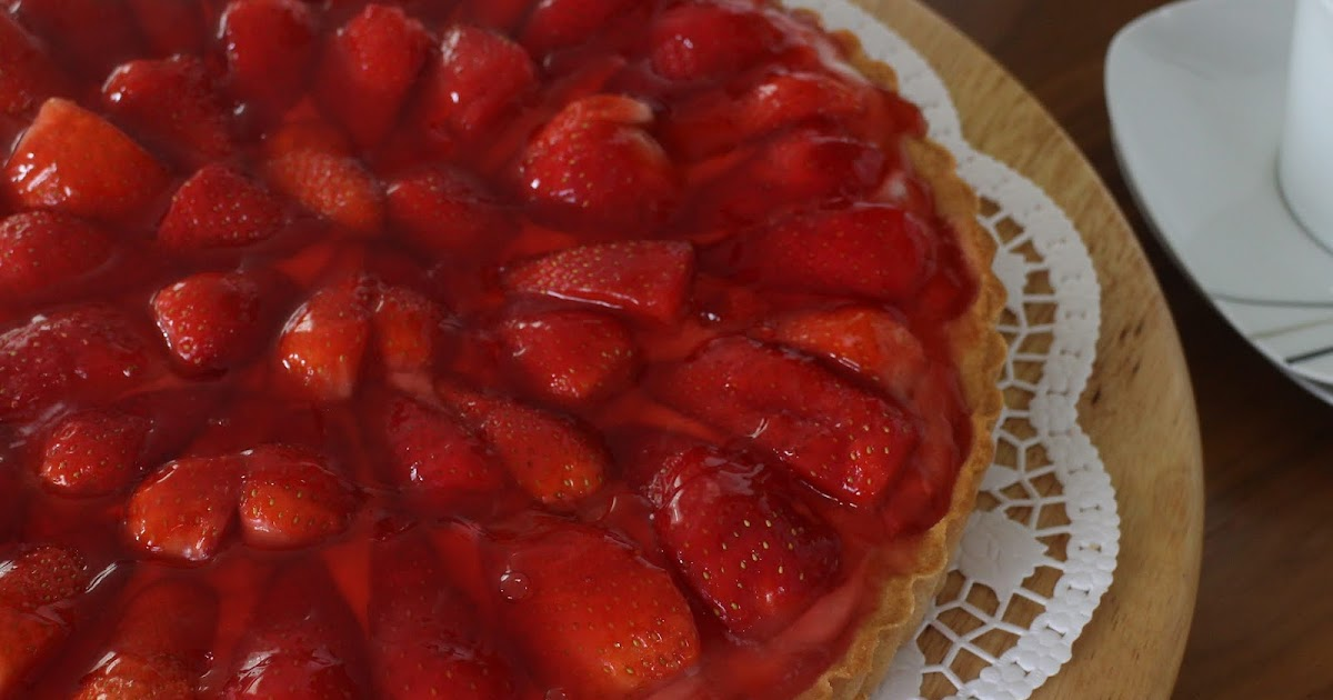 Erdbeer-Crostata mit Mascarpone und Joghurt