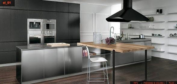 Modern Italian Kitchen Designs 9