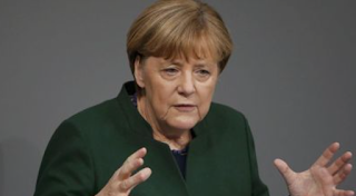 Germany's Merkel Says Supports Efforts Against Hate Speech