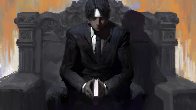 wallpaper hunter x hunter Chrollo Lucilfer leader of genei ryodan