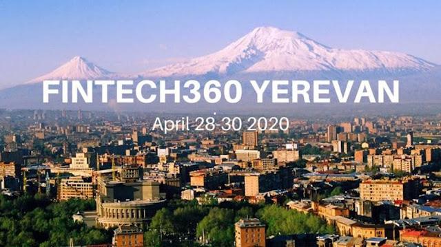 Fintech360 tendrá lugar en Ereván en abril