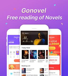 GoNovel aplikasi dollar paypal