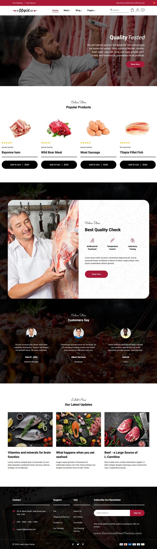 Food, Butcher & Meat Shop Shopify Theme