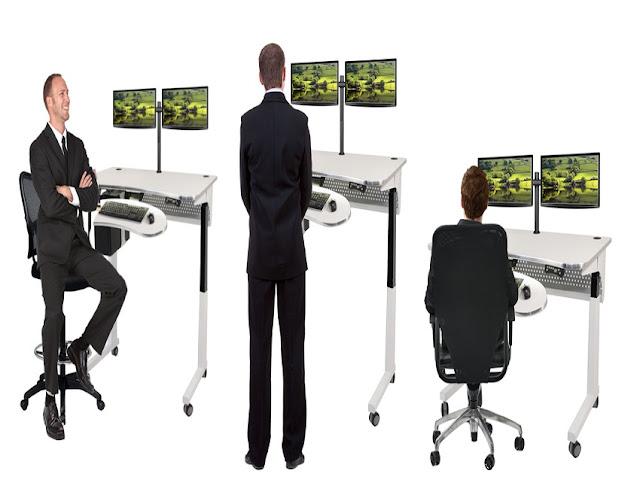 best buy office furniture standing desk adjustable for sale