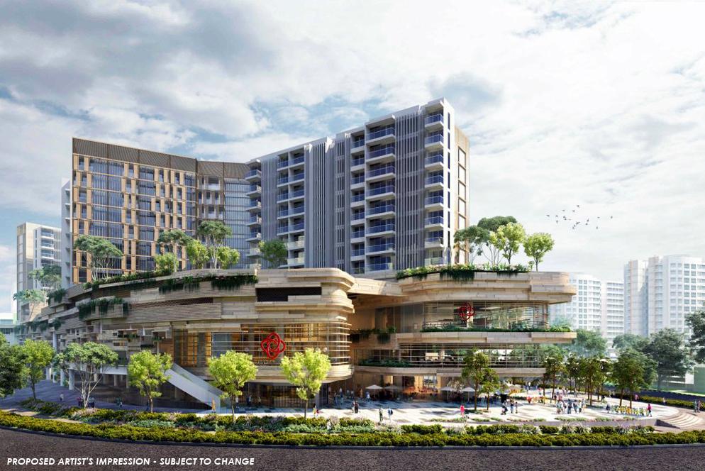 Sengkang Grand Residences - Building Facade
