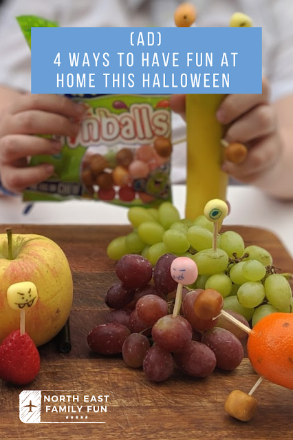 (ad) 4 Ways to Have Fun at Home this Halloween