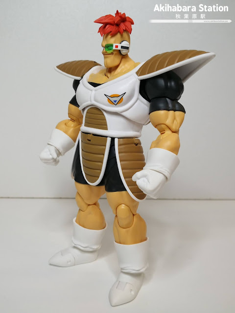 Review de S.H.Figuarts Recoome de Dragon Ball Z - Tamashii Nations