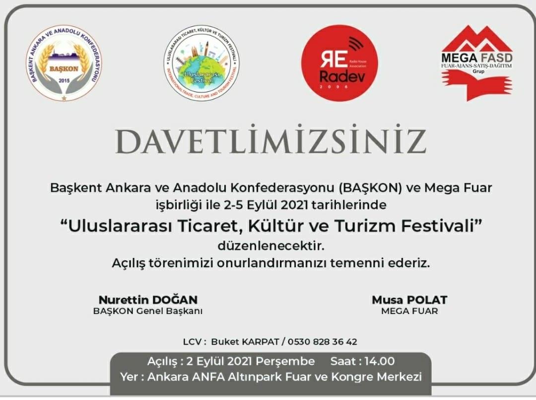 Uluslararası Ticaret, Kültür ve Turizm Festivali Ankara Altınpark