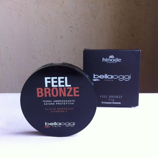 Resenha: Feel Bronze Pó Compacto Tonalizante - BellaOggi Hinode