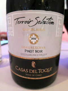 Casas del Toqui Terroir Selection Gran Reserva Pinot Noir 2012 - Casablanca Valley, Chile (88+ Pts)