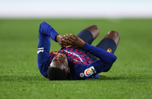 ousmane dembélé's injury