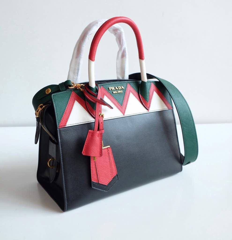 ... murah banting harga preloved fesyen wanita 3903b 8604f  sale prada  saffiano esplanade zigzag epsom longstrap mirror original leather bag..part  2 eb3bf bd4c67b4aa