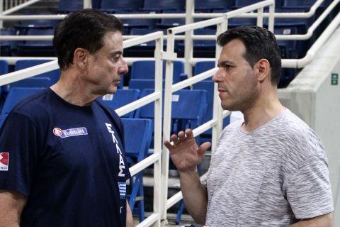 """Εθνική μπάσκετ: Μοντέλο δύο προπονητών με τον Ιτούδη """"βασικό"""""""