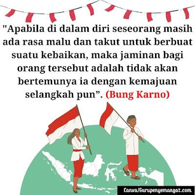 Gambar Ucapan Hari Kemerdekaan Indonesia dari Para Pahlawan Nasional (6)