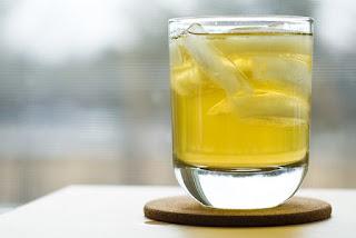 minuman iced green tea