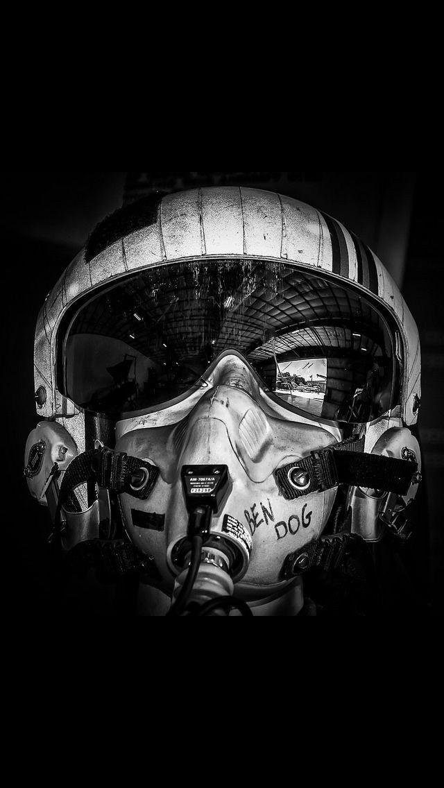 Vintage Flight Helmet