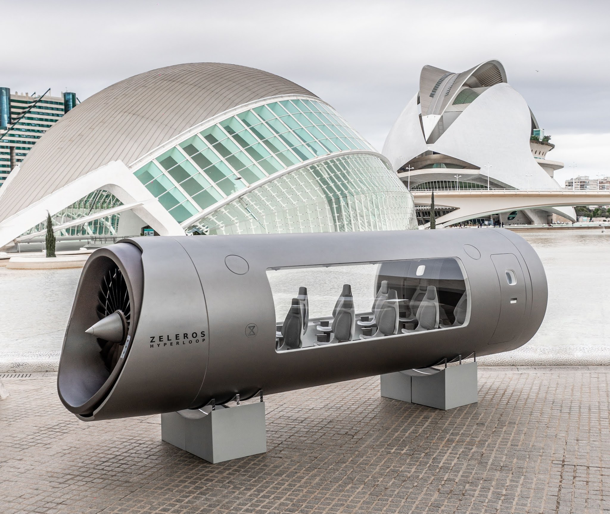 ACCIONA, CAF and EIT InnoEnergy bet on Zeleros to accelerate hyperloop in Europe