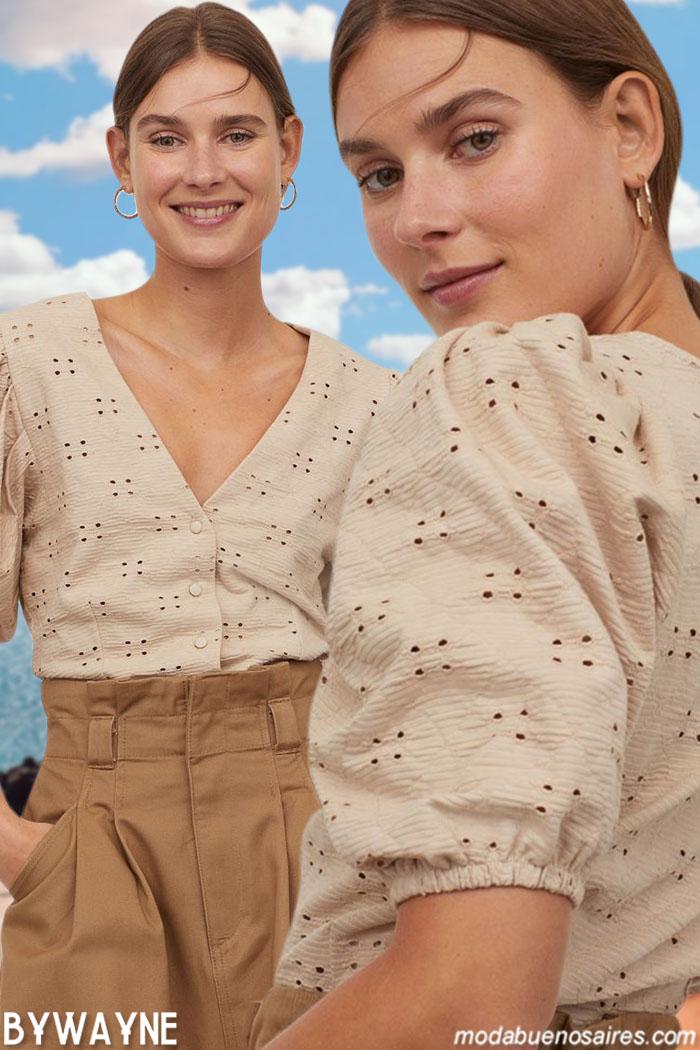 Moda 2021 Blusas verano 2021 moda